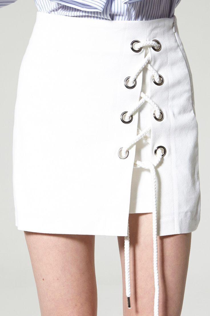 best 25+ lace up skirt ideas on pinterest | short skirts, skirts