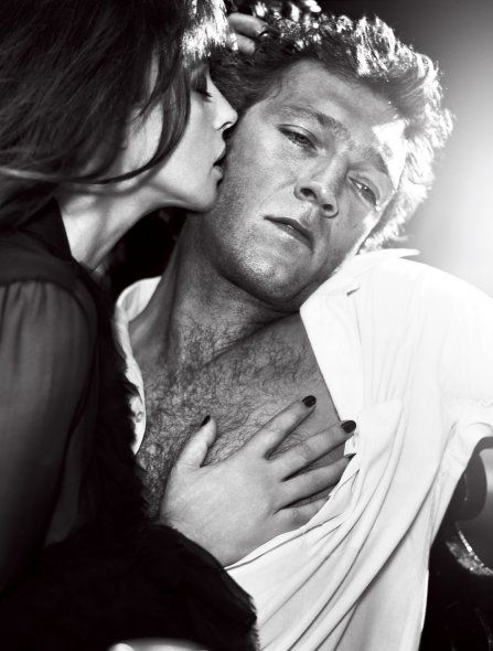Monica Bellucci & Vincent Cassel (Photography by Vincent Peters) #love #lovers #monicabellucci