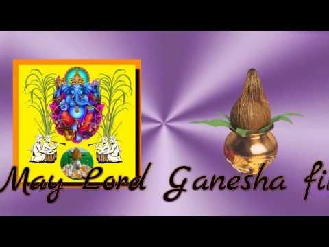 Happy Ganesh Chaturthi 2016,Vinayak Chavithi,Wishes,SMS,Greetings,Quotes,Animation,Whatsapp video - YouTube