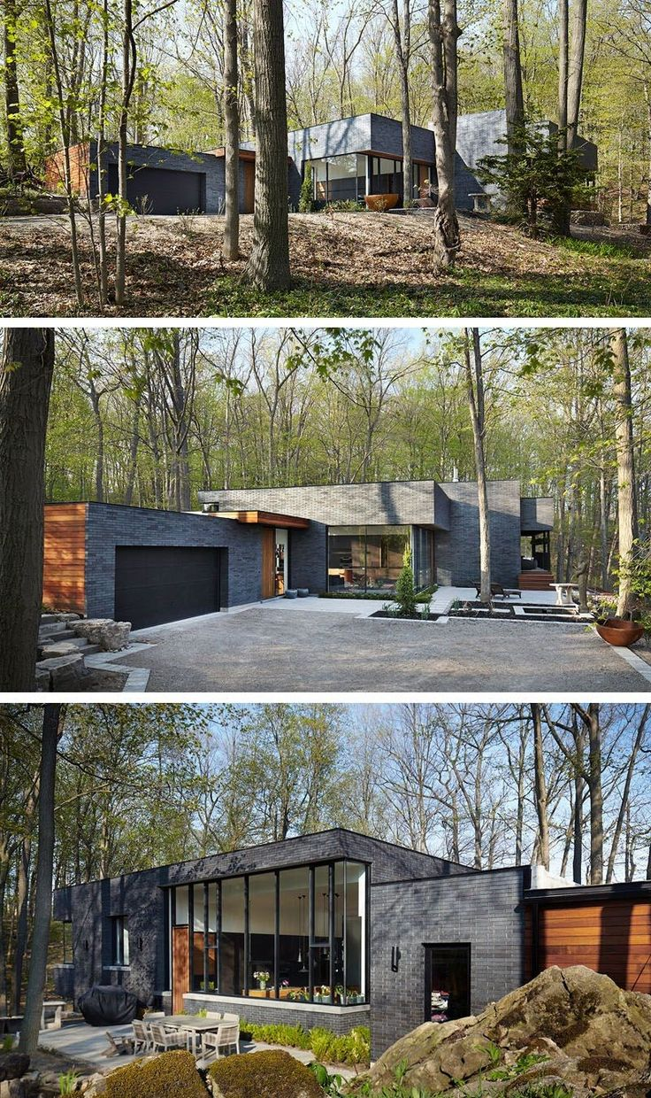 Container House - Setless Architecture have designed a home surrounded by nature in Dundas, Ontario, Canada. - Who Else Wants Simple Step-By-Step Plans To Design And Build A Container Home From Scratch?