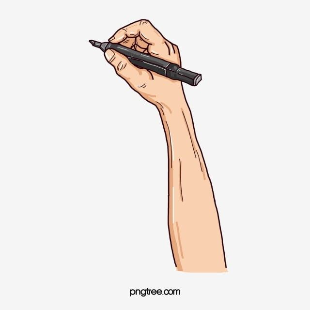 Hand Holding The Pen Writing Clipart Writing The Hand Gesture Png Transparent Clipart Image And Psd File For Free Download Hand Clipart Girls Holding Hands Pop Art Girl
