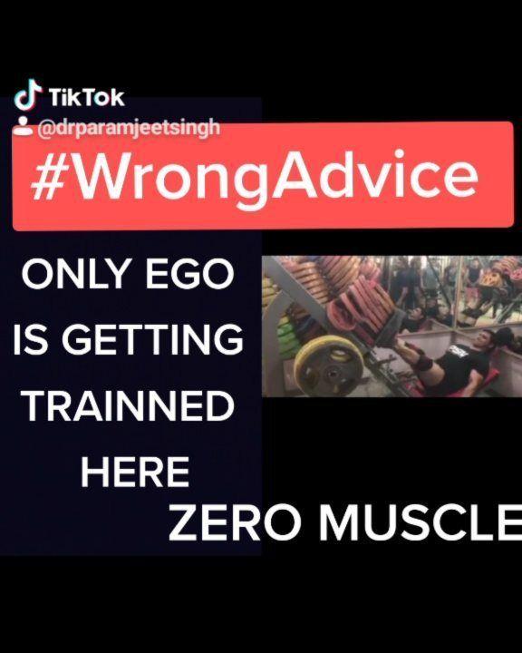 Wrongadvice On Tiktok By Dreducation Healthtok Edutok Healthtips Health Doctor Gherbaithoindia Learnathome Fitness Vira In 2020 Health Tips Advice Thankful