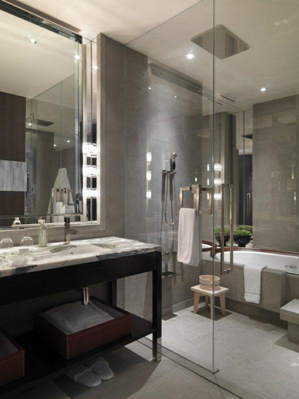 1000 id es sur le th me grandes salles de bain sur pinterest salle de bains - Idee salle de bain grise ...