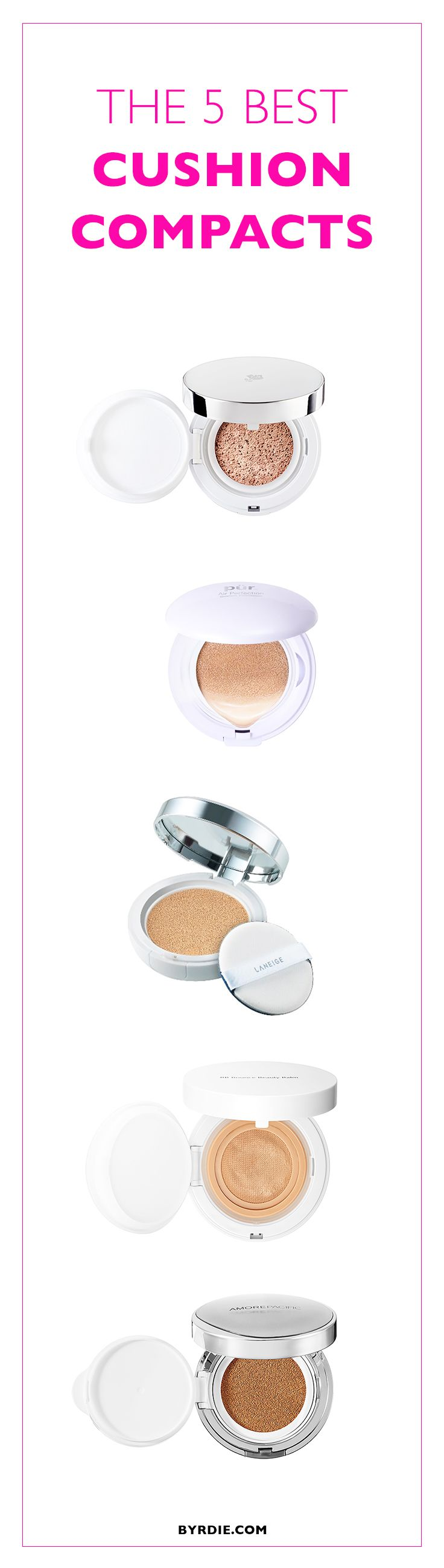 The 5 cushion compacts the Internet love most