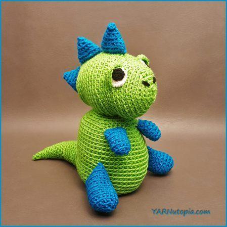 Mejores 20 imágenes de amigurumi free crochet dinosaurs en Pinterest ...