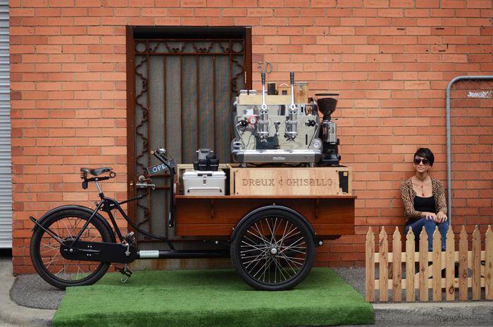 Dreux & Ghisallo, cafeteria movil vintage