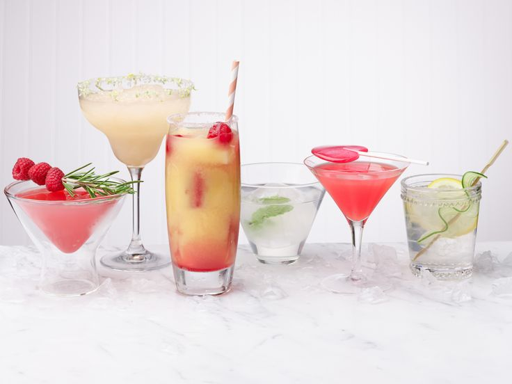 Dress Up Your Drinks : Reinvent your favorite cocktails with these 10 unique garnish ideas, including infused-salt rims, edible stir sticks and candied fruit.