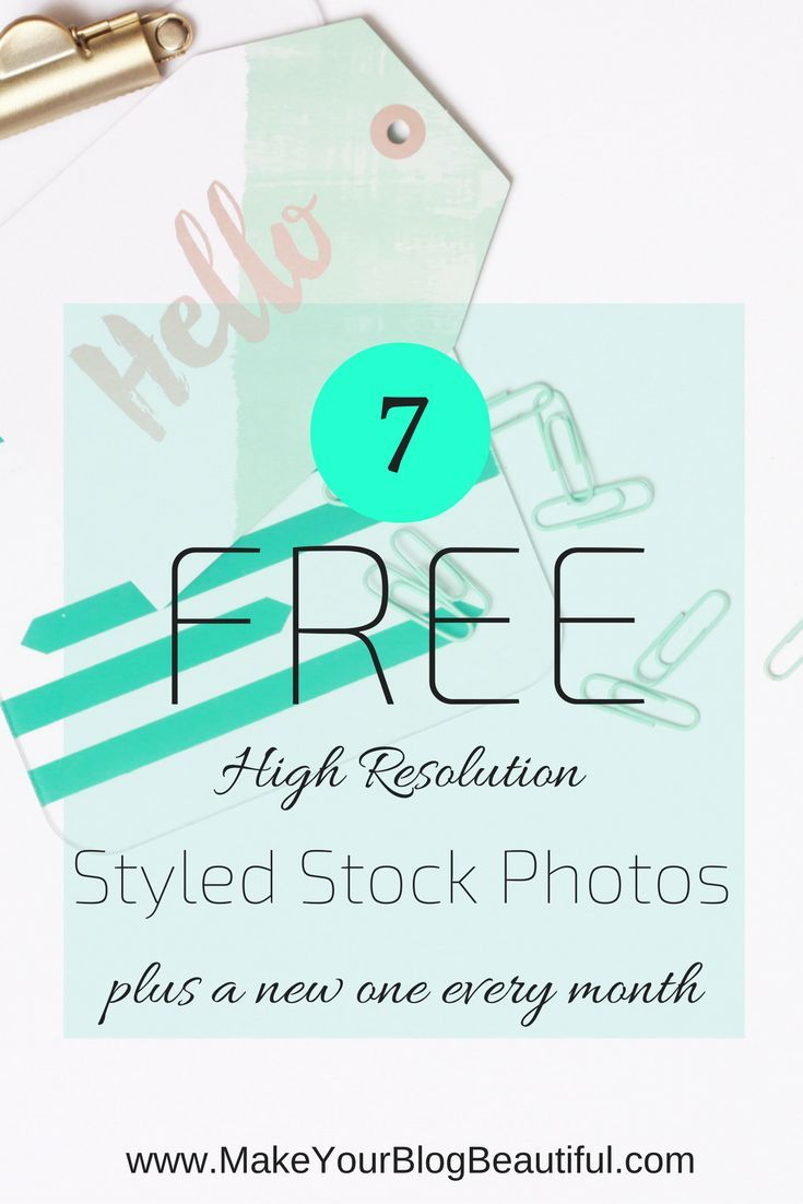 Get 7 free hi-res styled stock photos to use for your business (plus a brand new one every month!) at http://www.MakeYourBlogBeautiful.com