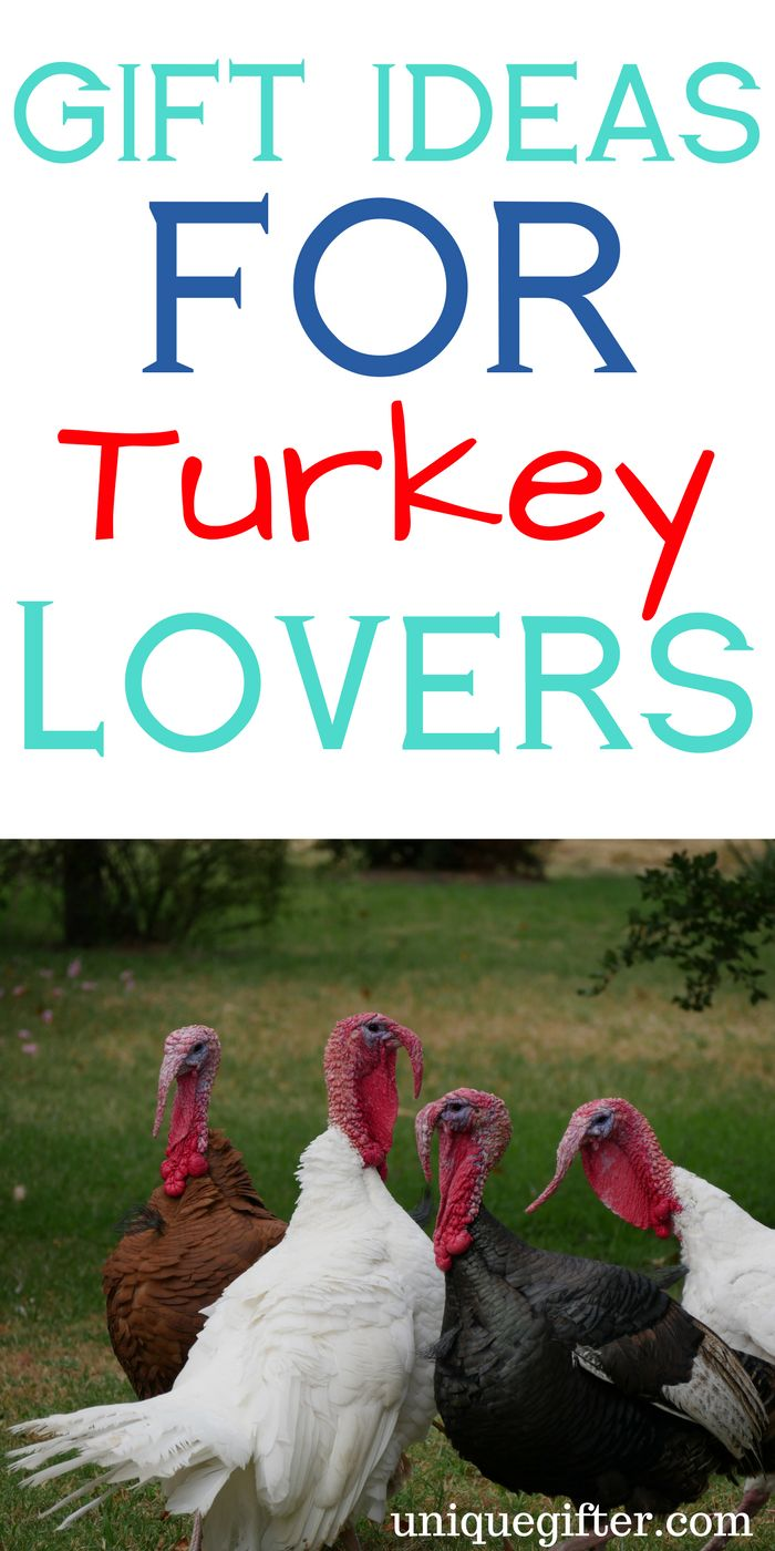 Gift Ideas for Turkey Lovers | Creative Gobble Gobble gifts | Funny Thanksgiving Ideas | Birthday presents for animal lovers | Christmas gifts for people who like turkeys | Turkey farmer ideas