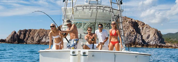 Cabo San Lucas Fishing Package - 3 Nights Hotel + 2 Days Cruiser Fishing - 2 Anglers - $514 per person - 3 Anglers - $376 per person - 4 Anglers - $327 per person - Call 1-800-511-4848 to customize your Fishing Vacation