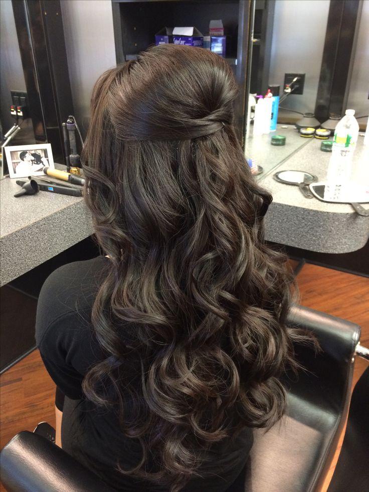 Prom Updo long hair  - Friseur - #Friseur #hair #long #Prom #Updo