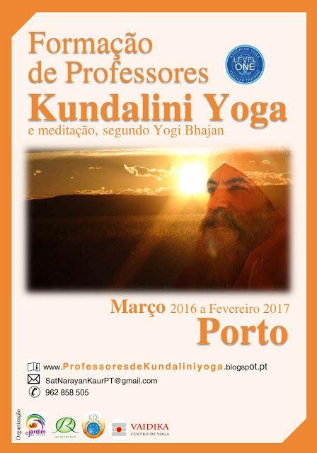 Formação de Professores de Kundalini Yoga: o cartaz