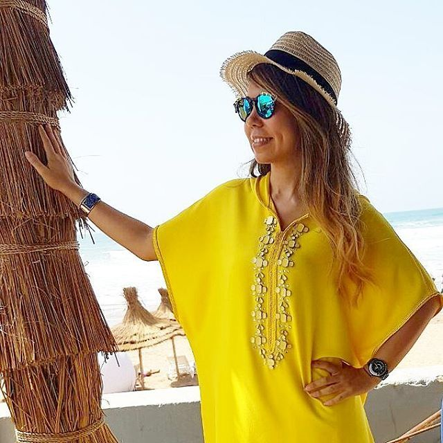 "421 mentions J'aime, 15 commentaires - SoTrendyLife (@sotrendylife) sur Instagram : ""Happy Friday #picoftheday #friday #summer #ramadan #jellaba #moroccandress #handmade #yellow…"""