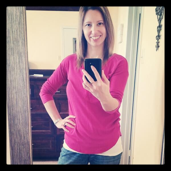 Thanks @Jennifer for helping support #pinkshirtday & team #ptpapink!