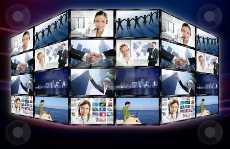 cutcaster-photo-100332459-Futuristic-tv-video-news-digital-screen-wall.jpg (450×293)