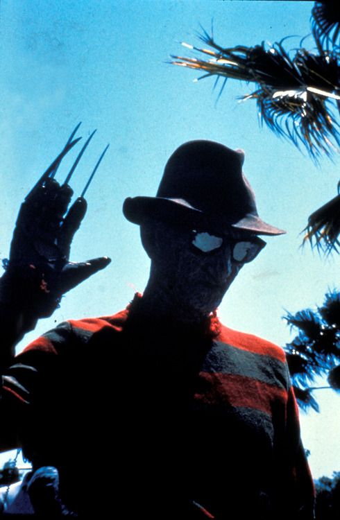 Freddy Krueger .. no one has ever looked more awesome while offing somebody