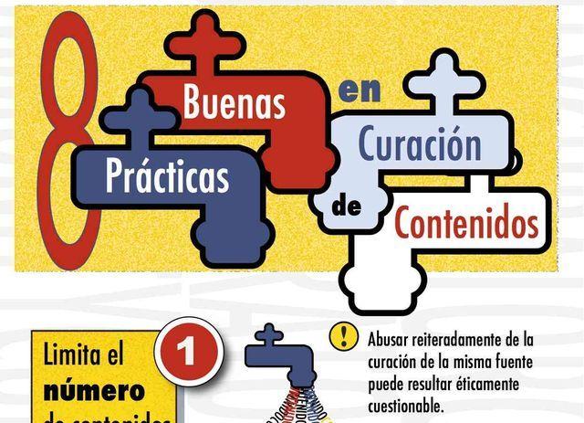 Buenas prácticas en curación de contenidos (infografía)