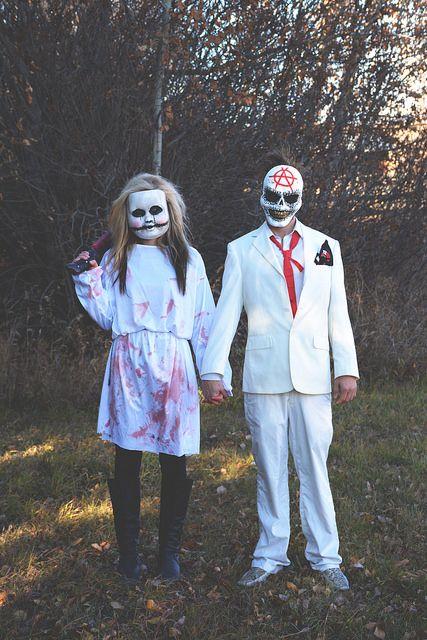 The Purge inspired Halloween costumes