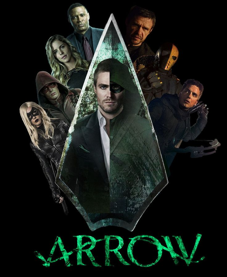 The Arrow logo/poster (Fan-Made) | moviepilot.com