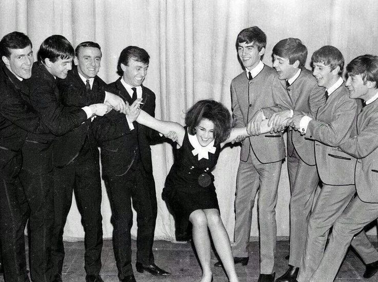 Gerry and the Pacemakers VS. the Beatles. I love both of them.