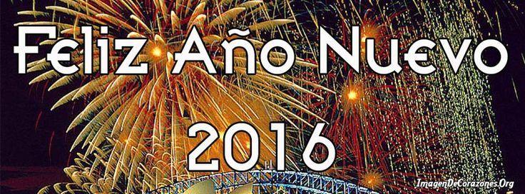 Feliz año nuevo portada de facebook
