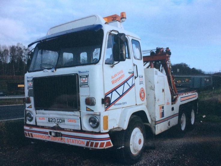 Volvo Tow Truck - ALAN DAVIS WORCESTER