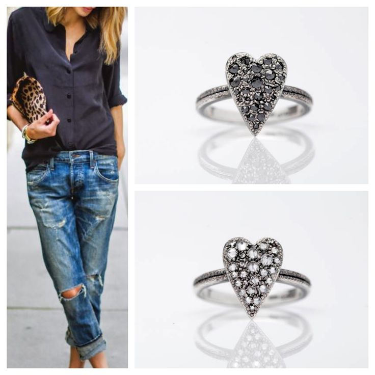 Stupisci! #girl #fashion #diamond #heart