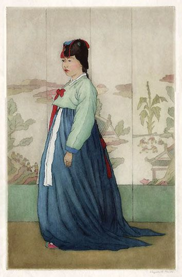 hanga gallery . . . torii gallery: A Daughter of the House of Min by Elizabeth Keith