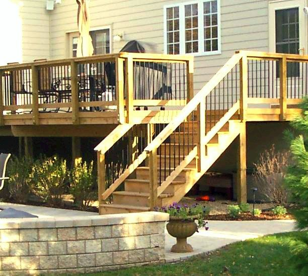 Garden Decking Ideas For Small And Large Plots: 84 Best Images About Elevated And Raised Deck Ideas On