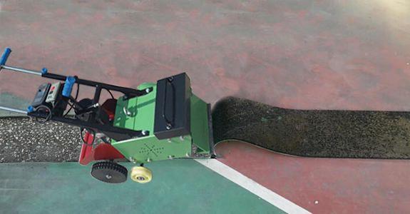 Plastic Floor Scraping Machine
