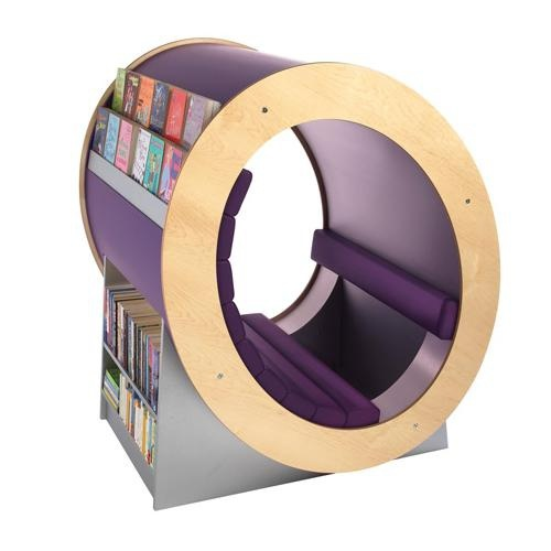 Coin-lecture réalisé par l'équipe de designers de Opening the Book, R.-U.