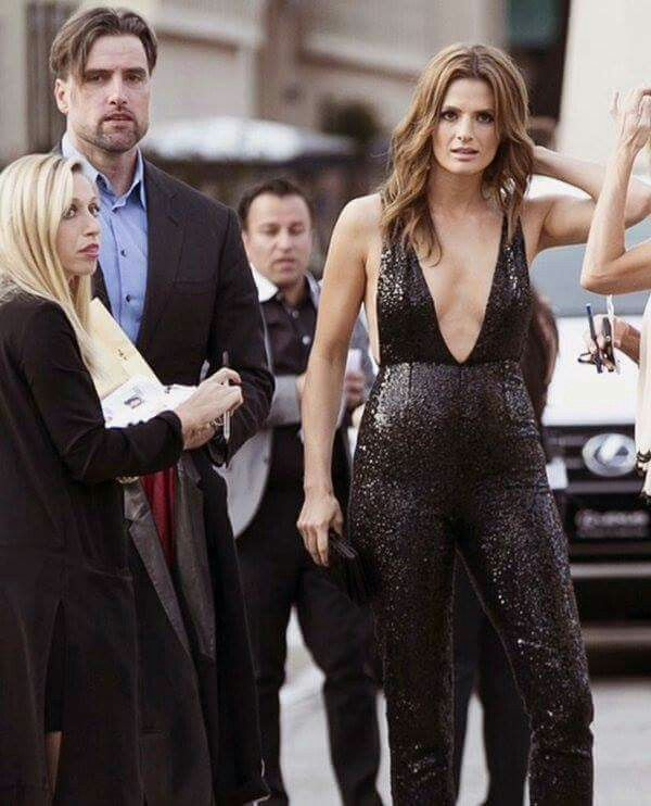 stana katic with her husband leading ladies pinterest