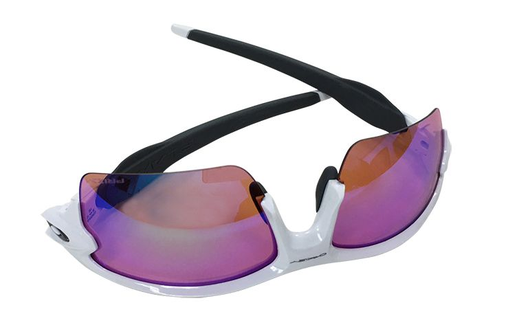 White Sport Sunglasses with Rose Lens $210.00 Northern Virginia Doctors of Optometry 703-413-1400