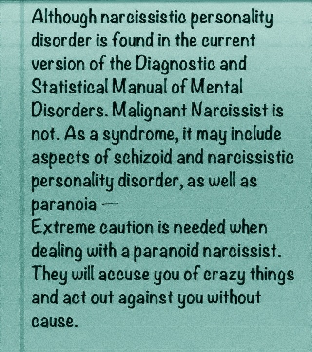 Case study paranoid personality disorder with narcissistic ...