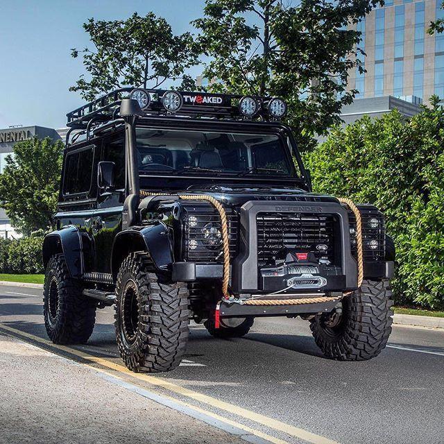 Land Rover Defender 90 Td4 Sw Se Customized Twisted-Spectre Edition Defender. Superb for me.