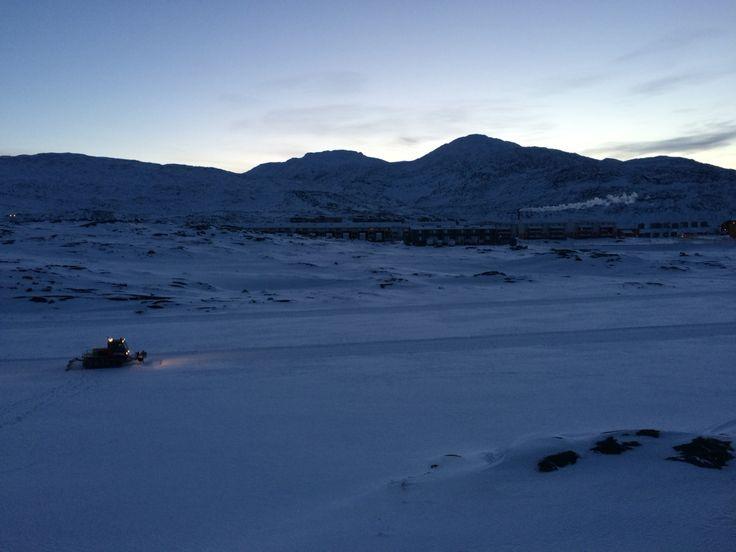 Morning at The Lake - Nuuk, Greenland