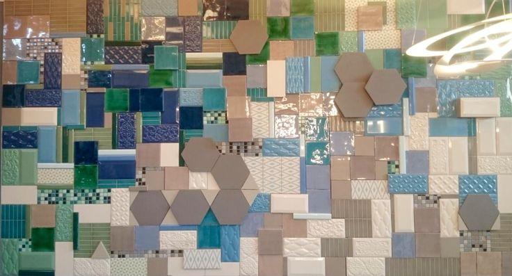 Tile Installation / fliesen Installation designed by Emell Gök Che / Studio Artemell