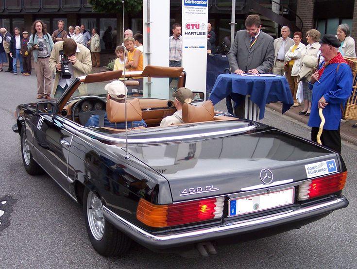 Mercedes 450sl......love this car