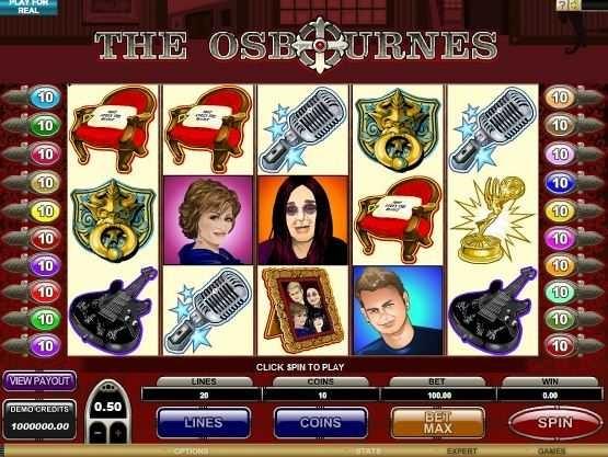 The Osbournes – Free Slot Game  http://www.onlinecasinoguru.com/?p=47332