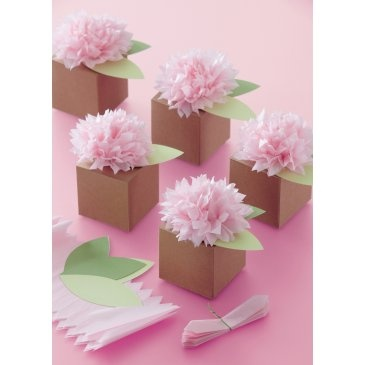 Martha Stewart - Pom Pom Flower Box Kit