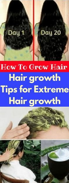 How To Grow Hair – Hair Growth Tips For Extreme Hair Growth – zdrowie