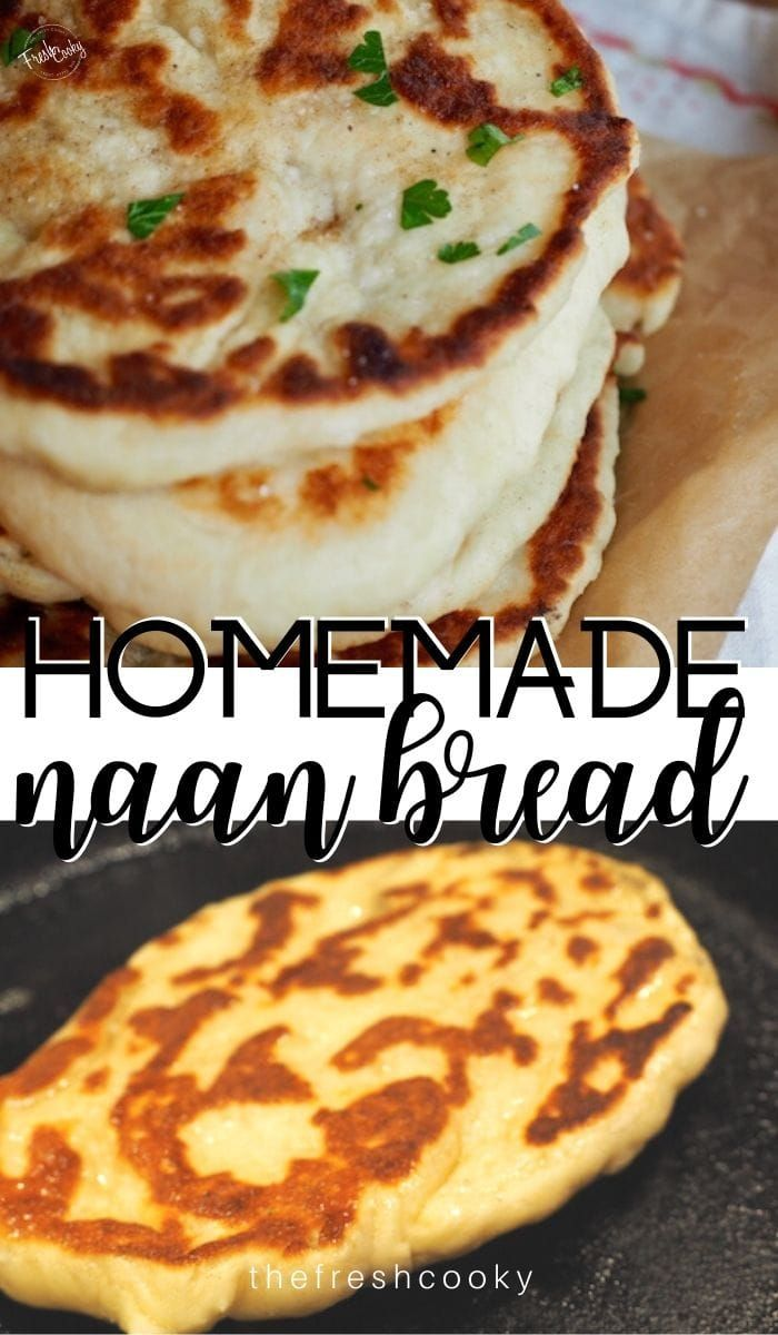 Easy Homemade Naan | Recipe | Greek yogurt recipes, Naan ...