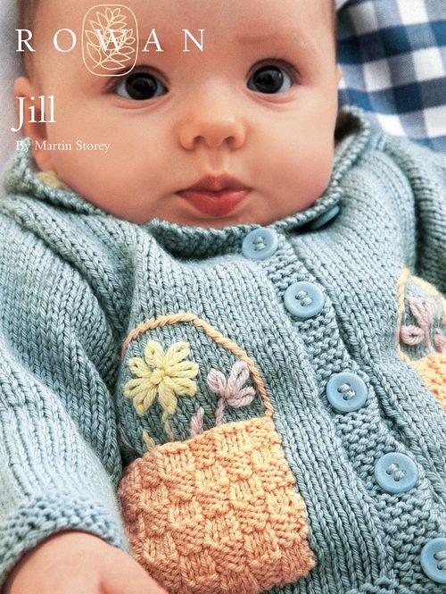FREE Rowan Pattern: Jill by Martin Storey in Rowan Baby Merino Silk DK