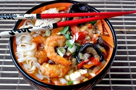 Суп «Азиатский фьюжн» рецепт с фото