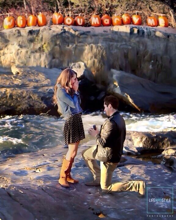 Fall Wedding Proposal