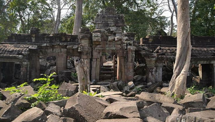 Main entrance to Banteay Chhmar Temple, Banteay Chhmar