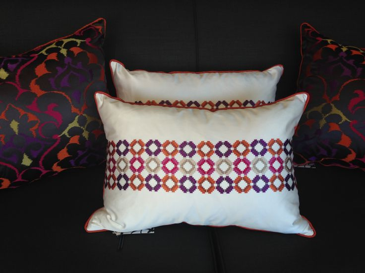 colour and cushions...lusicous