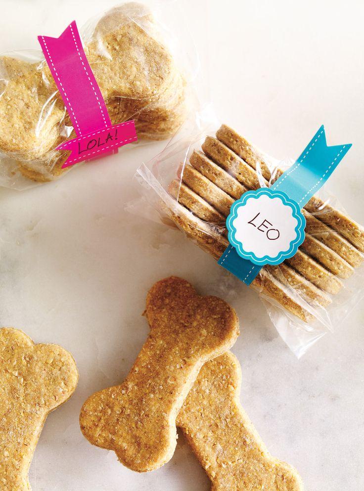 Recette de Ricardo de biscuits pour chiens