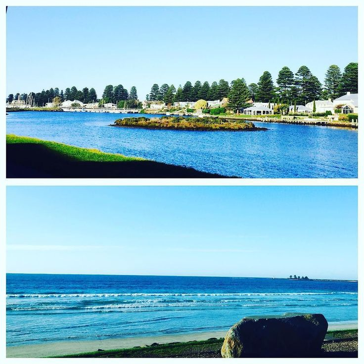 Couldn't ask for a nicer day really #portfairy #portfairypics #portfairy2016 #destinationportfairy #visitvictoria #visitportfairy #3284 #portfairywharf #sunshine #sun #beautiful #blessed by big4_portfairy