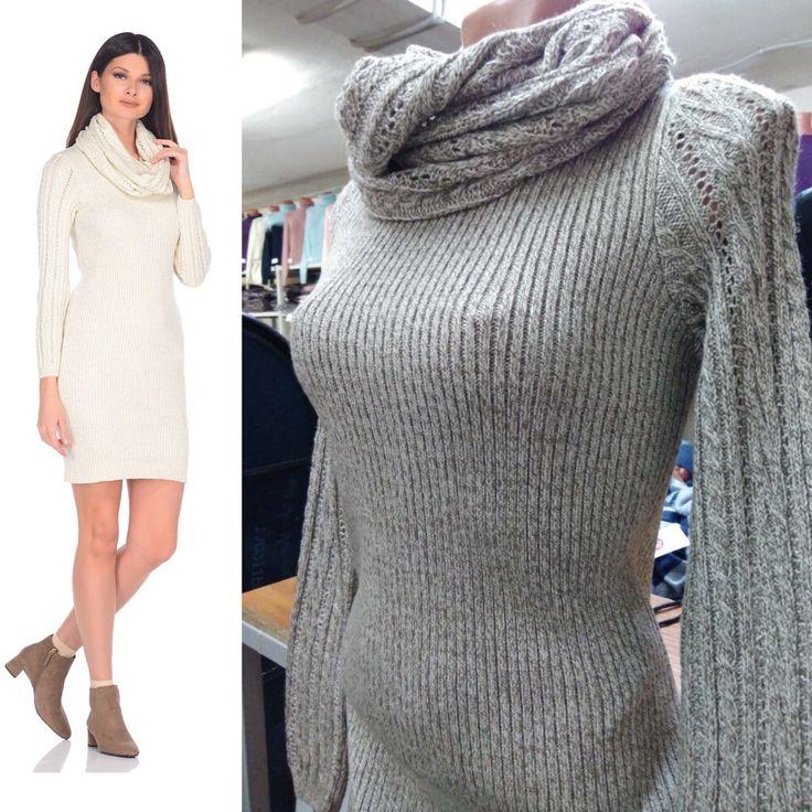 Трикотажное платье со снудом knit msls